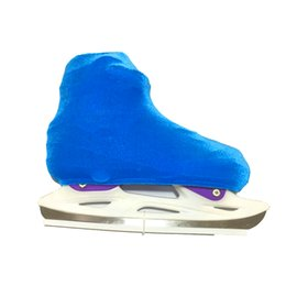 Chinese  Ice Figure Skating Shoes Patins Cover Roller Skate Protector Anti Scratch Flannelette Elastic For Kids Girl Teenagers 2 Colors manufacturers