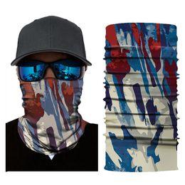$enCountryForm.capitalKeyWord NZ - 3D Camo Balaclava Bicycle Bandana Face Mask Camping Hiking Scarves Magic Headscarf Neck Warmer Army Headband Camouflage Bandana