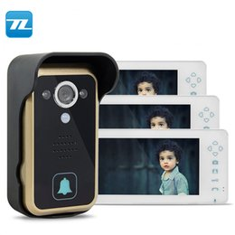wireless cameras Australia - Security Utility wireless doorbell camera wireless transmitter and receiver house intercom TL-A700A