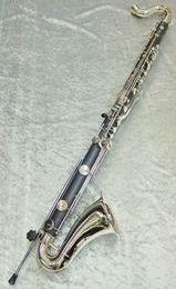 Chegada nova JUPITER JBC1000N Alta Qualidade Clarinete Baixo Clarinete Tubo Preto B Flat Brand New Instruments Instrumento Musical Com Caso