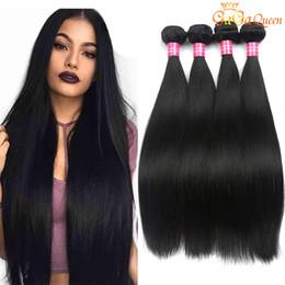 $enCountryForm.capitalKeyWord Australia - Brazilian Peruivan Malaysian Indian Virgin Hair Bundles Unprocessed Straight Human Hair Weave 3 Pcs Dyeable Hair Extensions Double Weft