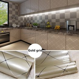 Paper Table Roll Australia - Kitchen Furniture Decoration Renovation Self Adhesive Wallpaper,Simple DIY Home Building Table Waterproof Wallpaper Stickers