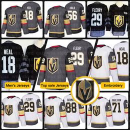 51dee18fe 2018 New Vegas Golden Knights Jersey 29 Marc-Andre Fleury 18 James Neal 56  Erik Haula 88 Nate Schmidt 67 Max Pacioretty Hockey Jerseys