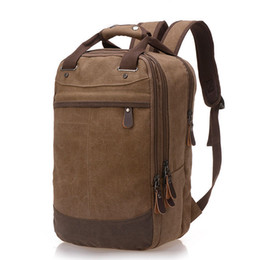 $enCountryForm.capitalKeyWord UK - College Wind Backpack Trend Of Casual Canvas Bag Man Bag Computer Backpack Student Leisure Shoulder Bags