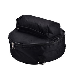 Discount drum percussion instrument - Durable 44.5*17cm Snare Drum Bag Backpack Case with Shoulder Strap Outside Pockets Percussion Instrument Bags & Cases