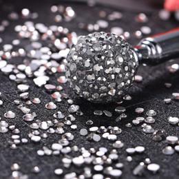 $enCountryForm.capitalKeyWord Australia - Fashion Nail Art Rhinestones Glitter Diamonds Tips Mixed 3D Tips DIY Decoration gel nail polish