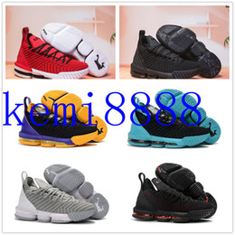 9709e563278 with box 2018 new top Lebron 16 Handmade Shoes James 16 lbj 16 Handmade  Shoes lebron shoes size euro 40-46