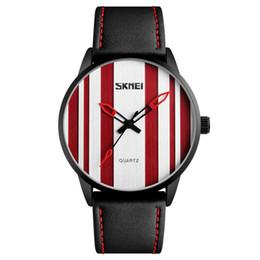 $enCountryForm.capitalKeyWord UK - SKMEI Men Casual Leather Strap Watches Waterproof Alloy Sports Watch Quartz Wristwatches New Fashion Relogio Masculino 1602S