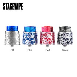 Fan diameter online shopping - Original StageVape Venus RDA Tank mm Diameter Side Airflow System Electronic Cigatette Tank for DIY Fans