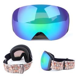 ski snowboard sunglasses 2019 - Hot Sale Ski Goggles Double Layers UV400 Anti-fog Big Ski Mask Glasses Skiing Men Women Snow Snowboard Goggles Sunglasse