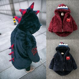 $enCountryForm.capitalKeyWord Canada - LZH Infant Girls Coat 2017 Autumn Winter Jacket For Boys Jacket Dinosaur Hooded Jacket Kids Warm Outerwear Coat Children Clothes