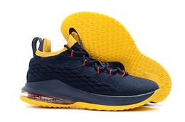 2018 прибытие дизайнер обувь 15 xv низкое равенство черный белый баскетбол обувь для мужчин 15S EP спортивная подготовка кроссовки размер США 7-12