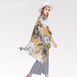$enCountryForm.capitalKeyWord UK - Autumn And Winter Scarves For Women Vintage Ethnic Scarf Satin Print Dream Catcher Women Casual Accessories Design Shawls Scarf