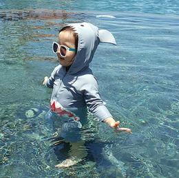 $enCountryForm.capitalKeyWord Canada - Children Swimsuit Baby Boy Swimwear Animal Sharks Swimsuit Infant Baby Bathing Suit Swimming Pool Clothing Uv Protection Suit