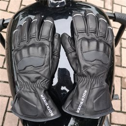 $enCountryForm.capitalKeyWord NZ - ROCK BIKER warm Breathable carbon fibre leather motorcycle leather gloves  racing gloves riding gloves  Outdoor skiing Gloves