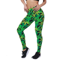 Nuovo arrivo Stampa Leggins Push Up Fitness Sexy Cartoon 3d Women Leggings casual di alta qualità Zebra Green Leaf Floral Pants