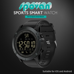 $enCountryForm.capitalKeyWord NZ - Outdoor Digital Smart Watch Sport for Men with Pedometer Wrist Watch for iOS and Android 50M Waterproof Remote camera