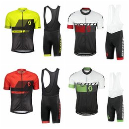 ropa ciclismo 2018 Newest scott Cycling Jersey suit Mountain Bike Wear  Short Sleeve Men Racing bicycle Clothes factory direct sale 101056Y 35502bd17