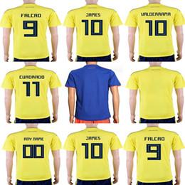 Discount custom blank jerseys - Mens Womens Kids Custom 2018 World Cup  Soccer Jerseys 9 FALCAO 7c44a91b9