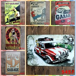 Folk Art Christmas Australia - GARAGE Series Paint 20*30cm Metal Tin Signs Christmas Decorations Luxury Home Decor Posters Wall Art Arts and Crafts