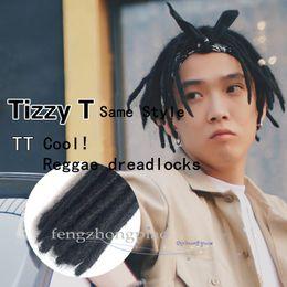 hair braiding styling 2018 - FZP Tizzy Same Style Reggae dreadlocks For Men dreadlocks TT Hair Rock Hip-Hop Africa Hair braid Hand braid Jamaica chea
