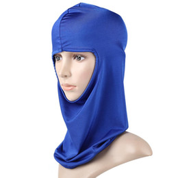 face covering mask UK - Outdoor Hiking Riding Head Face Mask Neck Ski Cover Made of lycra materials, soft and comfortable