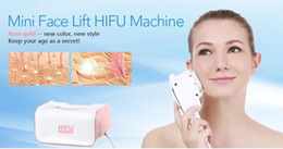 Lip Therapy Australia - 2 In 1 Hifu Machine With 2 Cartridges For Face And Eyes Anti-aging Skin Lifting Hifu