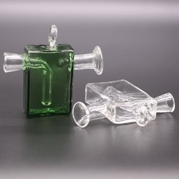 $enCountryForm.capitalKeyWord Australia - Travel Mini Bong Dab Rig 3.5 Inch Smoking glass Blunt Bubbler Joint The Martian Small Water Pipe accessories Recycler pipes