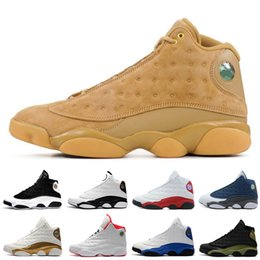 Hologram Shoes Canada - Cheap New 13 13s mens basketball shoes Bred Brown He Got Game Hologram Barons sneakers women sports trainers running shoes for men designer