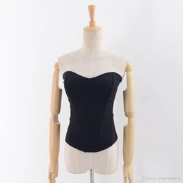 Knitting Models Women Canada - Shipping Explosion models Europe and the United States Women's Knit Vest Flat Shoulder Strap Tops Women New Underwear D+-17820