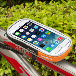 Bike Bags for iphone online shopping - M L Size Waterproof Bicycle bag Bike Mount Phone Holder Case for Samsung S3 S4 S6 S7 Note for iphone s plus Cellphones