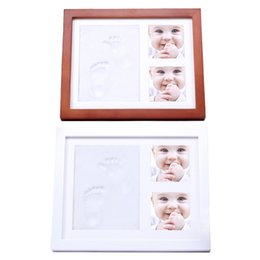 Chinese  Kids Born Commemorate Pictures Frames Children Growth Record DIYl Collection Imprint Handprint Footprint Photo Picture Frame manufacturers