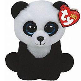 "$enCountryForm.capitalKeyWord UK - Pyoopeo Ty Beanie Babies 6"" 15cm Ming the Panda Bear Plush Regular Stuffed Animal Collection Soft Doll Toy with Heart Tag"
