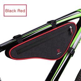 up wheels 2019 - WHEEL UP Bicycle Front Frame Bag Cycling Bike Tube Pouch Holder Saddle Panniers Bicycle Accessories 56g Cycling #4S04 di