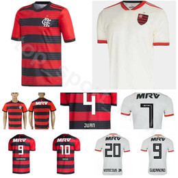 Soccer Football Shorts Man Australia - 18 19 Season CR Flamenco Jersey Men Soccer 9 GUERRERO 10 DIEGO 19 DOURADO 20 URIBE 11 PAQUETA 4 JUAN Football Shirt Kits