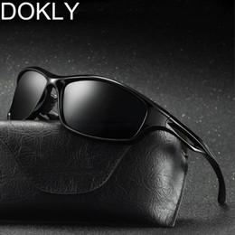 4f3e9c1ea0 Dokly Polarized Men Sunglasses Men cool Eyewear Brand Designer Driving  Oculos De Sol Reflective Coating UV400 Not Send With Bag