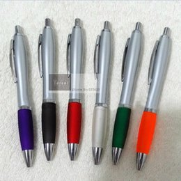 Logo Print Pens Australia - 1000pcs Lot customized printing your logo on ball pen ballpoint pen with free shipping by DHL express