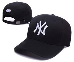 Compras en línea al por mayor NY Sombrero ajustado de la moda W Cartas  Snapback Cap Hombres Mujeres Baloncesto Hip Pop 6d8d3ba67d92