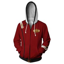 China Movie Star Trek II : The Wrath Of Khan Peripheral Print Hoodies Cosplay Sweatshirt Costume Fleece Lined Mens Hoodies Jackets cheap jacket cosplay suppliers