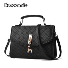 $enCountryForm.capitalKeyWord Canada - Rusoonnic Women Deer Shell Bag Women Messenger Bags Leather Mini Bag lady crossbody Shoulder Bags Handbag Bolsas