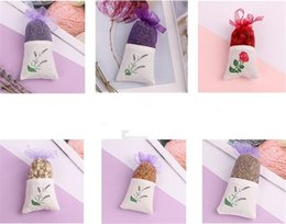 Roses dRied floweRs online shopping - Natural Lavender Rose Jasmine Bud Dried Flower Sachet Bag Aromatherapy Aromatic Air Refresh