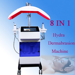 Skin cellS online shopping - 8 in bio rf hydro microdermabrasion water hydra dermabrasion spa facial skin pore cleaning machine promote skin cell renewal
