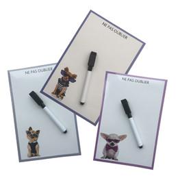 $enCountryForm.capitalKeyWord NZ - cool dog printed Dry Erase Flexible Magnetic Whiteboard Message board Memo Pad Dialog Box Fridge Magnets