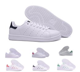 ShoeS copper online shopping - 2018 Stan Smith Spring Copper White Pink Black Fashion Shoe Man Casual Leather brand woman mens shoes Flats Sneakers