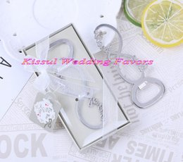 Wholesale For Bottle Boxes Australia - (25 Pcs lot) Silver Wedding Game favors of Infinite Love Bottle Opener in Gift box For Bridal shower Party Favors and Love favor