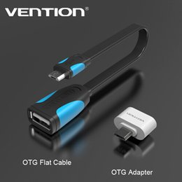 Discount flashing tablets - VENTION Micro USB To USB OTG Cable Adapter 2.0 Converter For Android Samsung Galaxy S3 S4 S5 Tablet Pc to Flash Mouse Ke