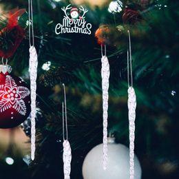 $enCountryForm.capitalKeyWord NZ - 1set Of 4pcs Xmas Clear Glass Ornaments Christmas Tree Decoration 5 .5 Inch