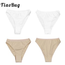 88dc41e1c5ed TiaoBug Kids High Cut Ballet Dance Underwear Briefs Underpants Girls Ballet  Dance Gymnastics Bottoms Ballerina Panties
