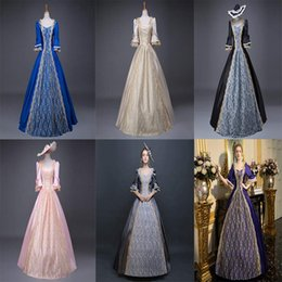 Southern Belle Dress Xl NZ - Customized 2018 Fashion multicolour Vintage Southern Belle Dress Civil War Marie Antoinette Ball Gown Birthday Party Costume Fast delivery