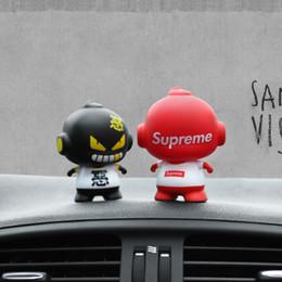 Автомобиль орнамент мультфильм кукла украшение симпатичные выражение украшения автомобиля приборной панели авто интерьер Декор автомобильные аксессуары для подарков